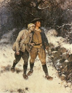 After the Fight | Evariste Carpentier | Oil Painting
