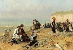 Le Treport | Evariste Carpentier | Oil Painting