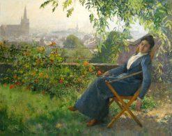 Siesta | Evariste Carpentier | Oil Painting