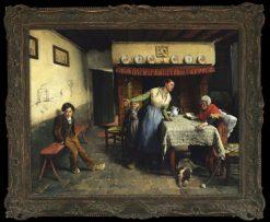 The Drawing Misunderstood | Evariste Carpentier | Oil Painting