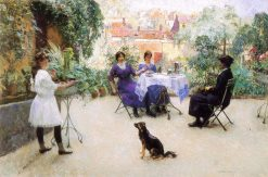 The Lunch of the Ladies | Evariste Carpentier | Oil Painting