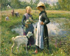 A Small Pond | Evariste Carpentier | Oil Painting