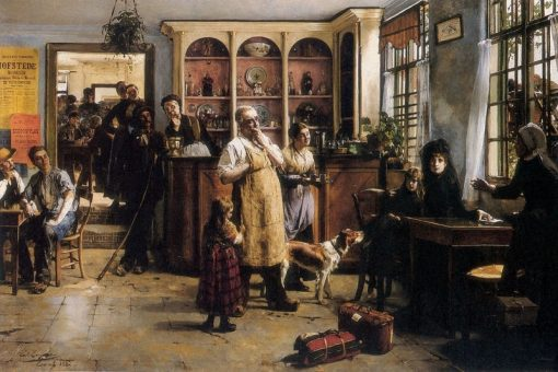 The Foreigners | Evariste Carpentier | Oil Painting