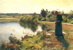Mare en Campine | Evariste Carpentier | Oil Painting