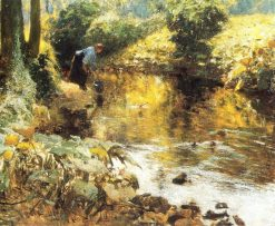 By the River | Evariste Carpentier | Oil Painting