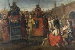 A Roman Triumphal Parade | Simon Peter Tilemann | Oil Painting