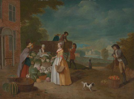 The Vegetable Seller | Pieter Angellis | Oil Painting