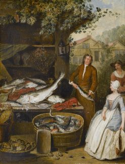 The Fishmonger | Pieter Angellis | Oil Painting