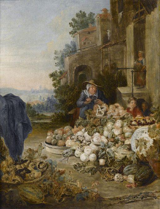 The Fruit Seller | Pieter Angellis | Oil Painting