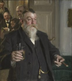A Toast in the Idun Society | Anders Zorn | Oil Painting