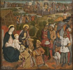 Adoration of the Magi | Guidoccio Cozzarelli | Oil Painting