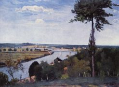 The Seine | Carl Fredrik Hill | Oil Painting