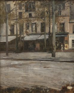 A Street in Paris. Study from Montmartre | Hugo Birger | Oil Painting