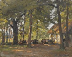 A Tavern in the Forest | Paul Eduard Crodel | Oil Painting