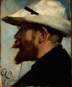 Peder Severin Kroyer | Oscar Gustaf Bjorck | Oil Painting