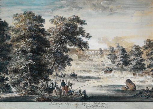 Landscape in Östgergötland   Carl Johan Fahlcrantz   Oil Painting