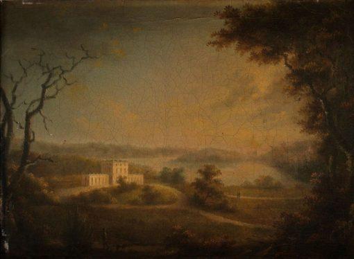 Pavilion of Gustav III | Carl Johan Fahlcrantz | Oil Painting