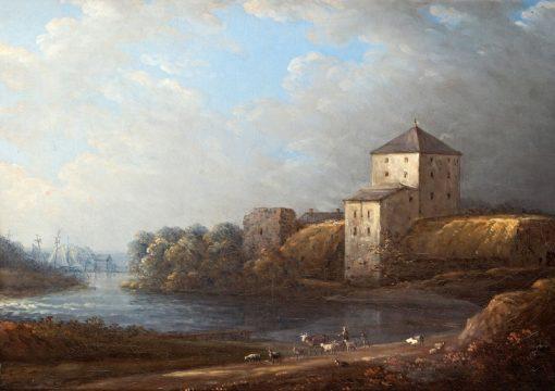 Nyköpings Castle | Carl Johan Fahlcrantz | Oil Painting