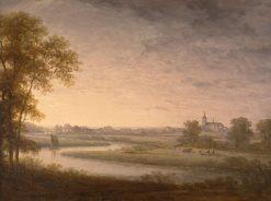 Landscape | Carl Johan Fahlcrantz | Oil Painting