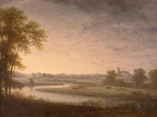 Landscape   Carl Johan Fahlcrantz   Oil Painting