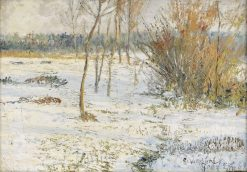 The First Snow | Anshelm Schultzberg | Oil Painting
