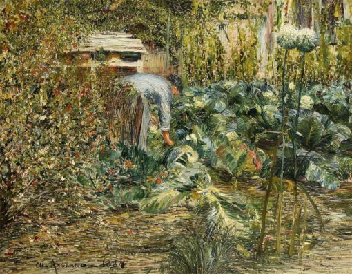 In the Garden | Charles Angrand | Oil Painting