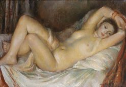 Reclining Nude | Vera Rockline | Oil Painting