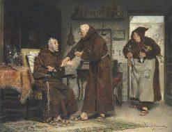 The Sick Monk | Antonio Casanova y Estorach | Oil Painting