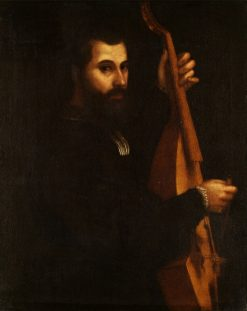 Portrait of a Musician | Giulio Campi | Oil Painting