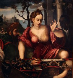 Allegory of Vanity | Giulio Campi | Oil Painting