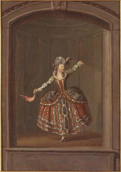 Christina Augusta von Fersen | Pehr Hilleström | Oil Painting