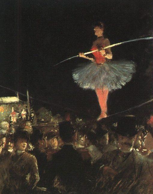 Tightrope-walker | Jean-Louis Forain | Oil Painting