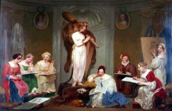 Workshop of female painters | Philippe-Jacques van Bree | Oil Painting