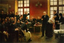 At the Medicine School | Andre Brouillet | Oil Painting