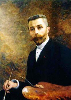 Self Portrait | Andre Brouillet | Oil Painting