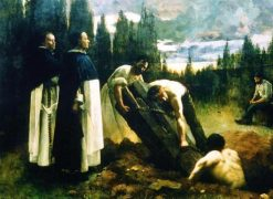 The grave robbers | Andre Brouillet | Oil Painting