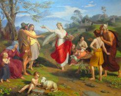 Allegory of Spring | Alexander Bruckmann | Oil Painting