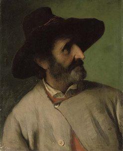 A Tyrolean Man   Josef Buche   Oil Painting