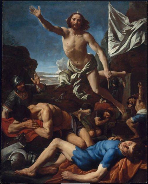 The Risen Christ | Simone Cantarini | Oil Painting