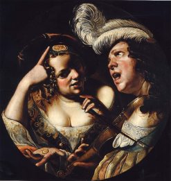 Allegory of Love | Angelo Caroselli | Oil Painting
