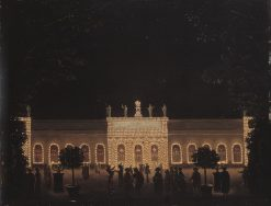 Illumination of the Orangery in the Royal Garden | Pehr Hilleström | Oil Painting