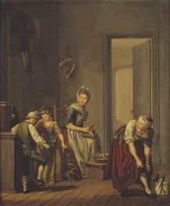 Women in a Kitchen | Pehr Hilleström | Oil Painting