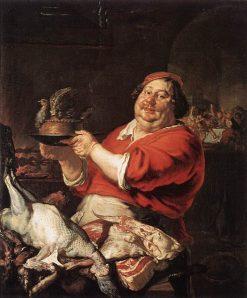 February   Joachim von Sandrart   Oil Painting