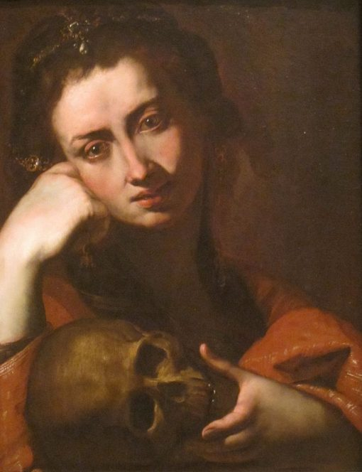 The Penitent Magdalene | Angelo Caroselli | Oil Painting
