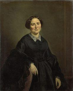 Johanna Christina Beelenkamp   Moritz Calisch   Oil Painting