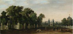 View of a Villa   Francesco Zanin   Oil Painting