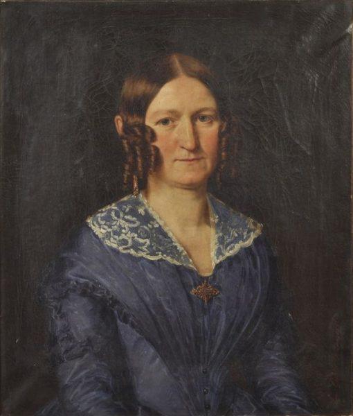 Portrait of a Lady | Louis Anton Gottlob Castelli | Oil Painting