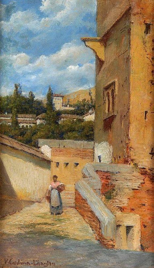 Callejuela | Victoriano Codina y Langlin | Oil Painting