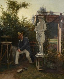 The Sculptor | Theodore Gerard | Oil Painting