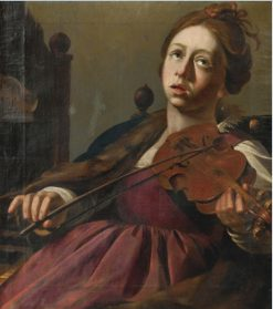 St. Cecilia | Christiaen van Couwenbergh | Oil Painting